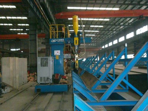 Automatic H Beam Production Line
